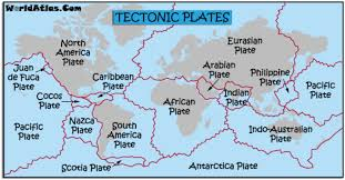 Tectonic Plate Map Plate Tectonics By Tommy Frazier