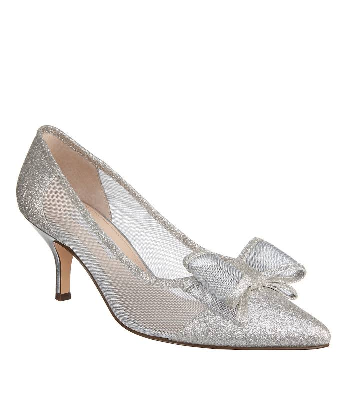 Nina Bianca Heels Silver- Womens