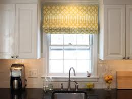 decorations white kitchen with valance curtain in half shape