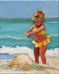 peinture de bord de mer daily paintworks carol carmichael peinture bord de mer plage