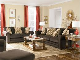 Reading Nook Furniture by Window Treatment Living Room Beige Motive Fabric Sofa Gray Color