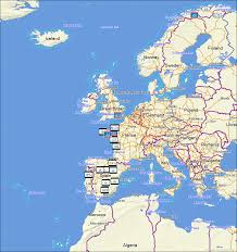 Western Europe Political Map by Tramsoft Topoactive Western And Eastern Europe English