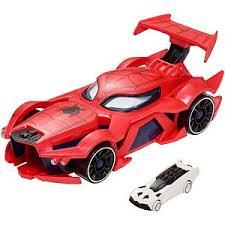 marvel wheels spider man car launcher fdm61 wheels