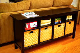 Ikea Wicker Baskets by Bedroom Outstanding Hemnes Sofa Table Baskets Furniture