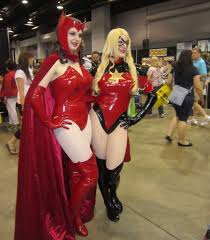 scarlet witch costume comics wizard world chicago 2014 photos part 3 marvel and dark horse