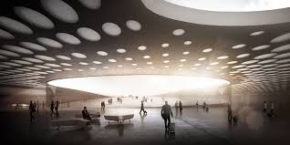 New Wall Design by Wall Designs New Paveletskaya Transit Hub For Moscow Archdaily