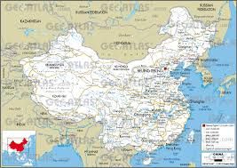 China City Map by Geoatlas Countries China Map City Illustrator Fully