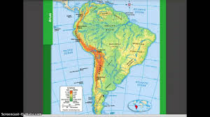 Political Map Of Latin America by Physical And Political Geography Of South America Youtube