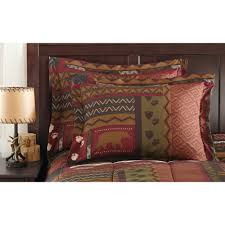 Cheap Hunting Cabin Ideas Mainstays Cabin Bed In A Bag Coordinated Bedding Set Walmart Com