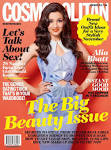 Alia Bhatt on the cover of Cosmopolitan India Nov 2012 [HQ] Full