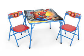 incredible folding table and chairs for kids with groovgames and
