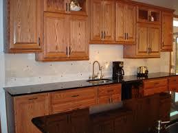 Kitchen Backsplash Cherry Cabinets by Best Kitchen Backsplash Ideas With Granite Countertops U2014 All Home