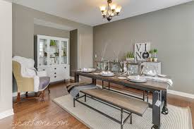 Decor For Dining Room Table Stunning Industrial Dining Room Contemporary House Design