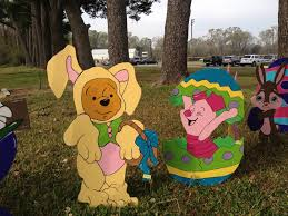 Christmas Yard Decoration Images Winnie The Pooh Easter Yard Art My Diy Projects Party House
