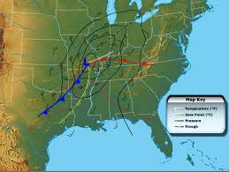 Weather Map Ohio March 18 1925 U2014 The Tri State Tornado Stormstalker