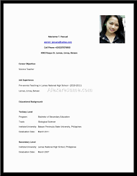 How To Make Resume For Job Jobs With No Resume Example Of Resume For Job Resume Example