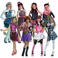 Halloween Costume Monsters Inc Girls Monster High Halloween Kids Fancy Dress Costume Book