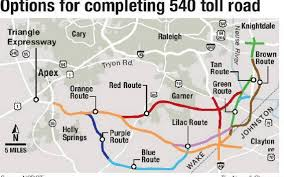Raleigh Map Appellate Court Limits Ncdot U0027s Power To Reserve Land Indefinitely