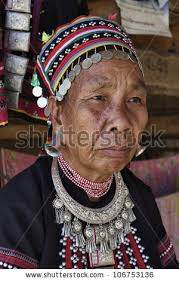 Thailand, Chiang Mai, Karen Long Neck hill tribe village (Kayan Lahwi),. Save to a Lightbox ▼. Please Login... To organize photos in lightboxes you must ... - stock-photo-thailand-chiang-mai-karen-long-neck-hill-tribe-village-kayan-lahwi-karen-woman-in-traditional-106753136