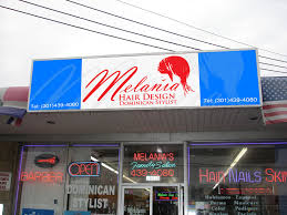 melania hair design