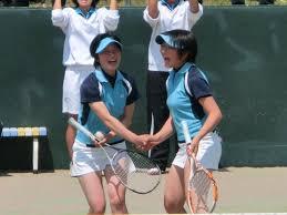 ソフトテニス 高校 女子 北陸高校