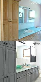 Painting Kitchen Cabinets Two Different Colors Best 25 Cabinet Transformations Ideas On Pinterest Refinished