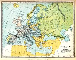 Map Of Russia And Europe by Map Of Europe In 1810 The French Empire And Dependent States