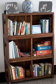 Wooden Crate Bookshelf Diy by Bookshelf Made Of Michaels U0027s Crates Crafts Pinterest Crate