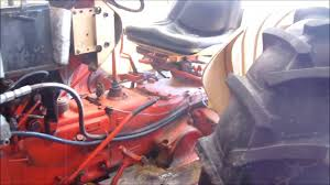 case tractor split apart for clutch youtube