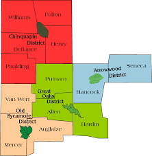 Van Wert Ohio Map by About Us