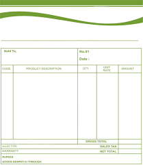 Bill For Services Template Bill Formats Free Invoice Template