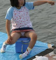 盗撮(Js|女子小学生)|JSスク水お尻食い込みワレメ盗撮画像14