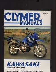 kawasaki klr650 2008 2012 maintenance troubleshooting u0026 repair