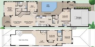 home plans with courtyard pools escortsea