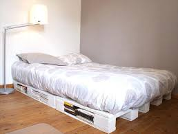 Plans For Wooden Platform Bed by 42 Diy Recycled Pallet Bed Frame Designs