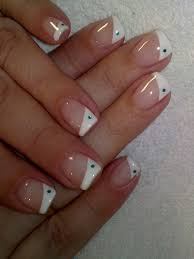 top 10 latest french tip nail art designs for 2017 gel nail art