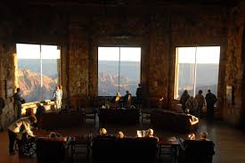 Late Afternoon In The Sun Room Of Grand Canyon Lodge Grand - Grand canyon lodge dining room
