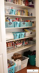 kitchen pantry organization makeover free printable labels