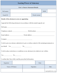 Power Of Attorney Pdf Form by 12 Best Images Of Free Printable Of Blank Power Attorney Form