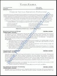 Financial Planner Resume Sample by Financial Resumes Free Resume Example And Writing Download