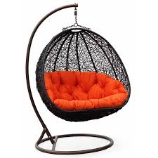 hang out this summer in the season u0027s hottest swing chairs wicker