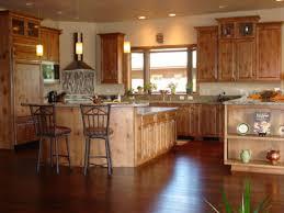 hickory kitchen cabinets for sale craigslist tehranway decoration knotty alder with dark finished kitchen cabinet set in tuscan interior design