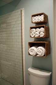 inspiring do it yourself towel storage ideas bathroom