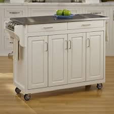 buy create a cart kitchen island with stainless steel top base