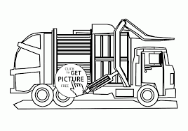 Old Ford Truck Coloring Pages - large tow semi truck coloring page for kids transportation pages