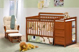 Convertible Crib Changer Combo by Cribs With Changing Table Combo Protipturbo Table Decoration