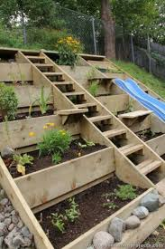 Vertical Garden Vegetables by Best 10 Pallet Gardening Ideas On Pinterest Pallets Garden