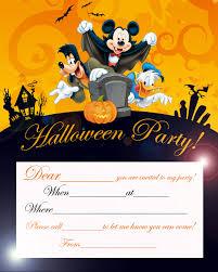 free halloween invite templates disney halloween party invitation card printable best gift ideas