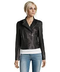 men s moto jacket cole haan black leather asymmetrical zip moto jacket bluefly com