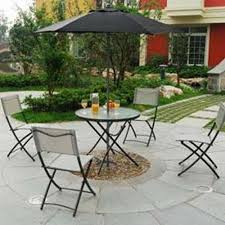 Black Wrought Iron Patio Furniture Sets by Dining Room Comfortable Folding Chairs With Black Leather Seat